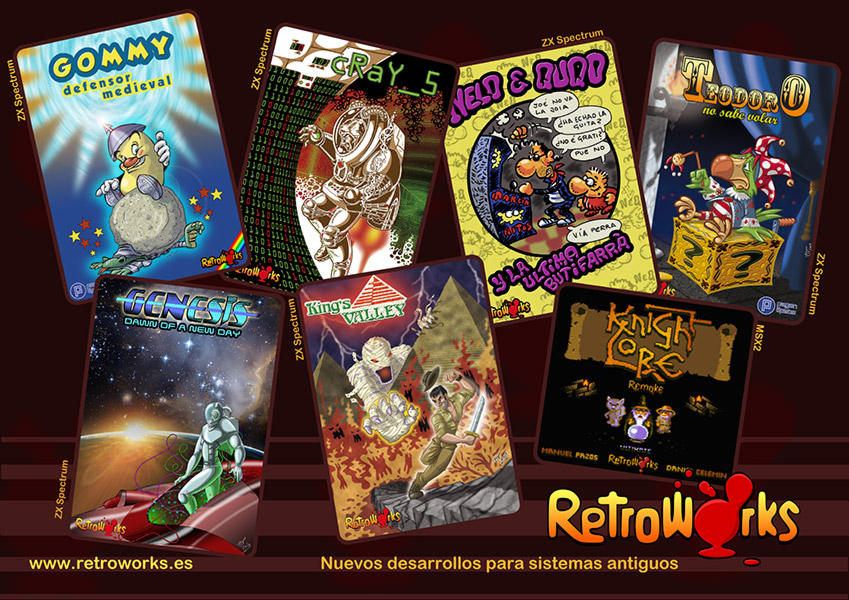 Cartel de RetroWorks